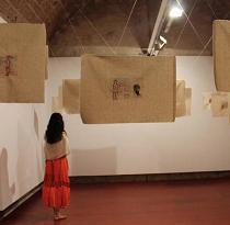 نمایش مجموعه آثار الناز جوانی در اسپانیا